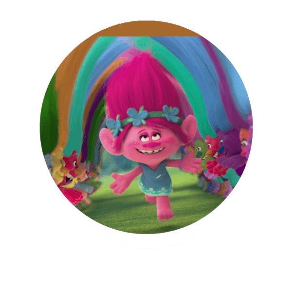 Characters   Trolls Poppy Singing Cake Topper