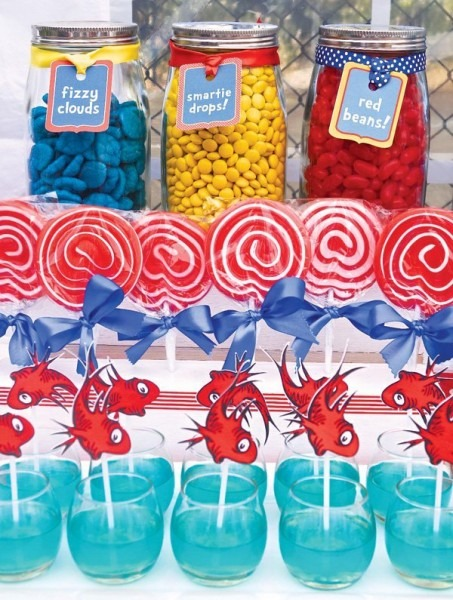 The Best Dr  Seuss 1st Birthday Party Ideas On Love The Day