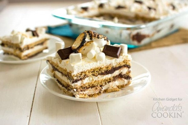S'mores Icebox Cake  Bring The S'mores Indoors With This Icebox Cake!
