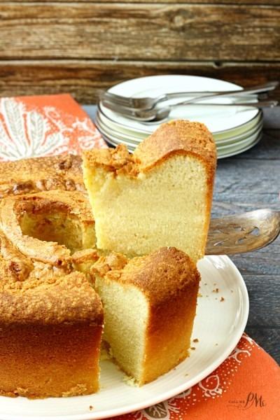 Sour Cream Pound Cake Recipe » Call Me Pmc