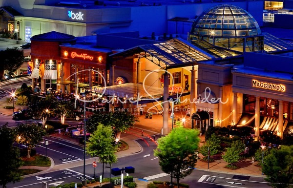 Exterior Photography Of Southpark Mall In Charlotte, Nc