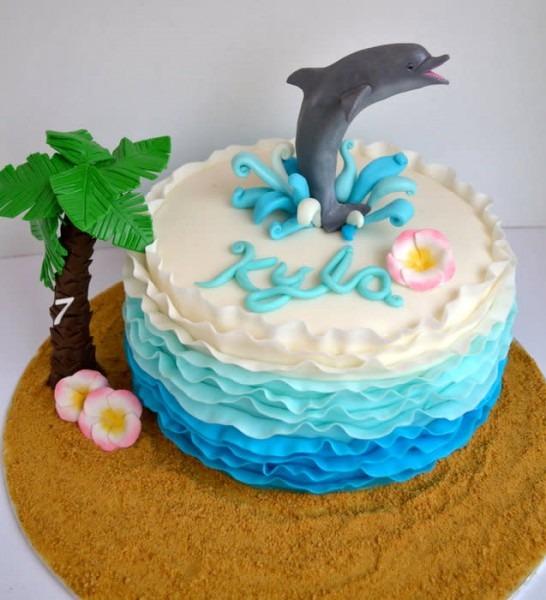 Birthday Cake Dolphin   111 Cakes