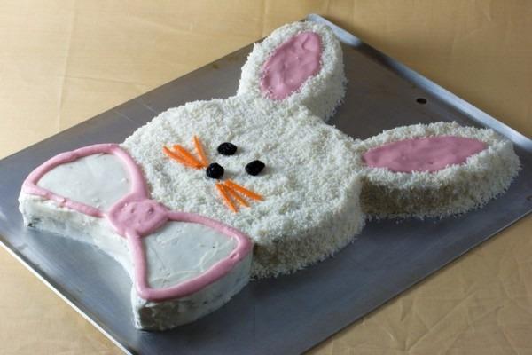 How To Make A Bunny Cake