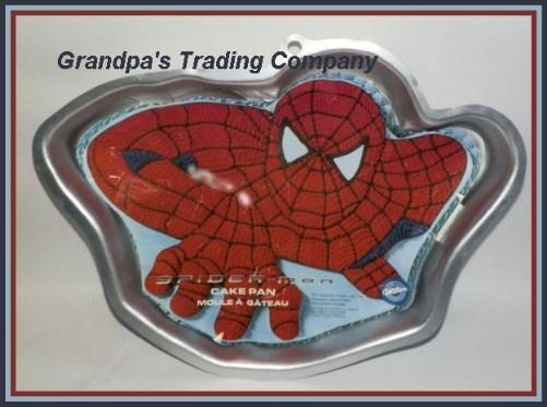 Wilton Spiderman Cake Pan Jello Mold 2105