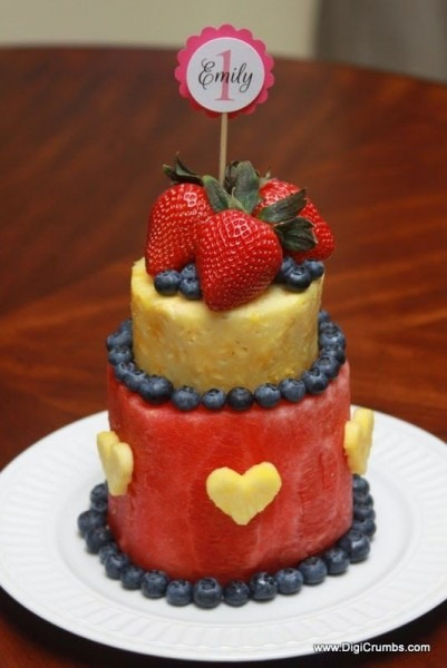 How To Make A Layered Watermelon Fruit Cake