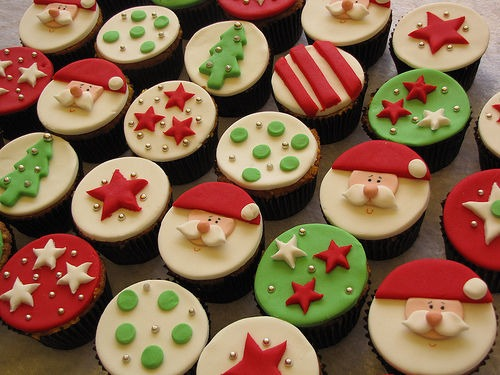 Festive Christmas Cupcakes Pictures, Photos, And Images For