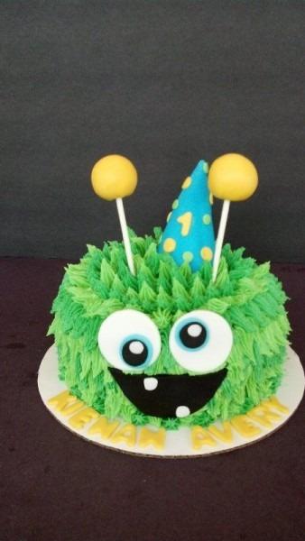 Monster Smash Cake Www Facebook Com Cakesmadebychrissy