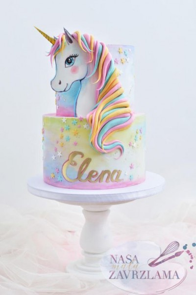 Unicorn Cake By Nasa Mala Zavrzlama