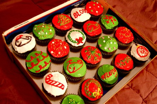 Decorative Christmas Cupcakes Pictures, Photos, And Images For