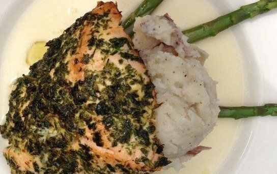 Cheesecake Factory Herb Crusted Salmon Recipe