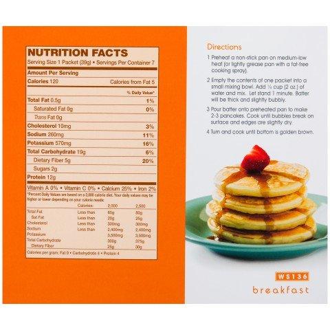 Amazon Com   Wonderslim Protein Pancake Mix