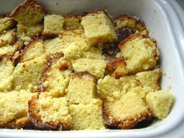Good Ideas  Pound Cake Bread Pudding