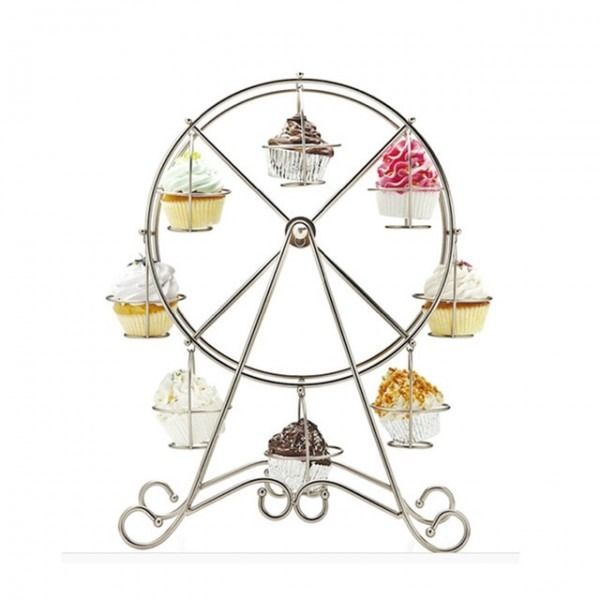 Cup Cake Stand For Wedding Party Creative Ferris Wheel Cupcake