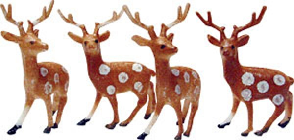 Deer, Party,winter,decoration,holiday,christmas,cupcake Toppers