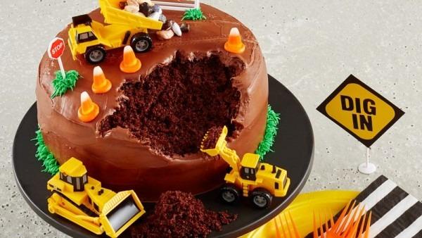 Construction Site Cake Recipe
