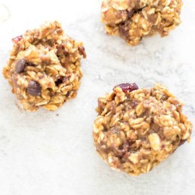 Vegan Sweet Potato Oatmeal Cookies