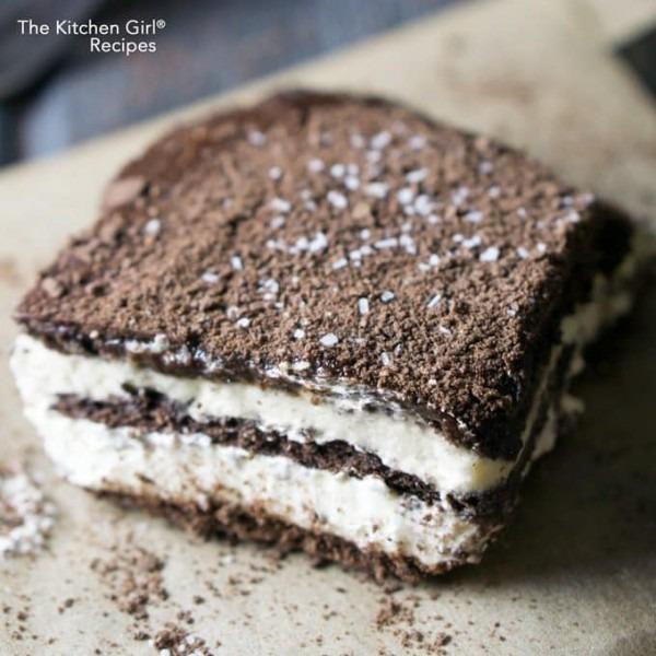 Easy Icebox Chocolate Eclair Cake  No Bake Overnight Refrigerator Cake