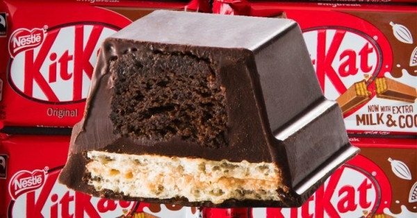 Someone's Invented A Kit Kat Cake Hybrid Bar And It Looks