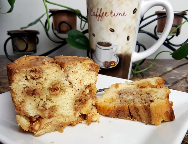 Low Carb Cinnamon Crunch Coffee Cake Recipe