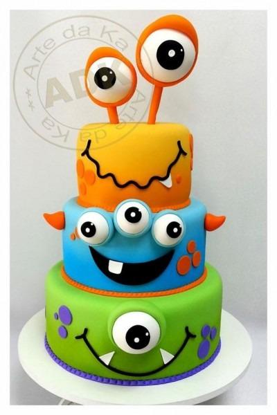 Ultimate Monster Birthday Cake Inspiration Board