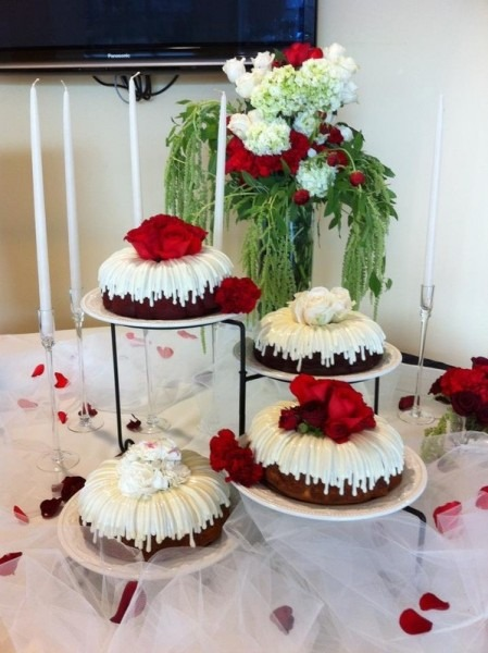 Bundt Wedding Cakes Bundt Wedding Cakes Nothing Bundt Cakes
