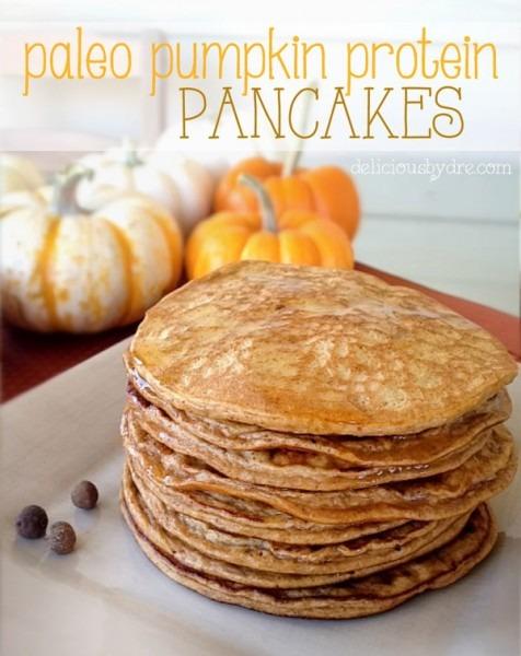 Healthy Gluten Free Paleo Pumpkin Protein Pancake Recipe
