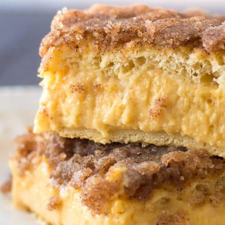 Pumpkin Sopapilla Cheesecake Bars