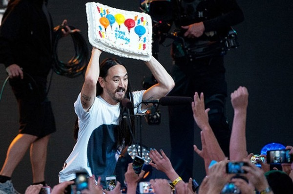 Steve Aoki Continues Beef With Wunderground