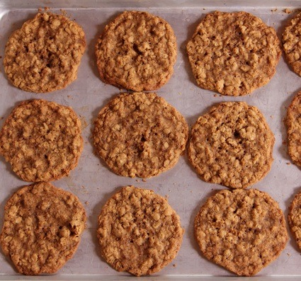Sweet Potato & Oatmeal Cookies