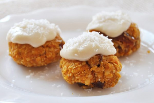 Sweet Potato Oatmeal Cookies, Vegan + Gluten