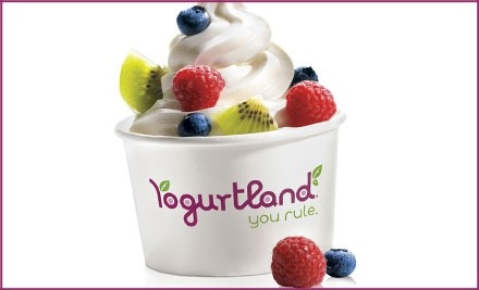 Local Groupon Deal  $5 For $10 Worth Of Frozen Yogurt At Yogurtland