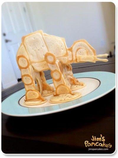 Star Wars Pancakes   Epic!