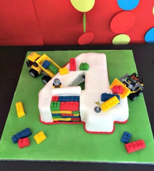 Lego 4 Years Birthday Party Ideas