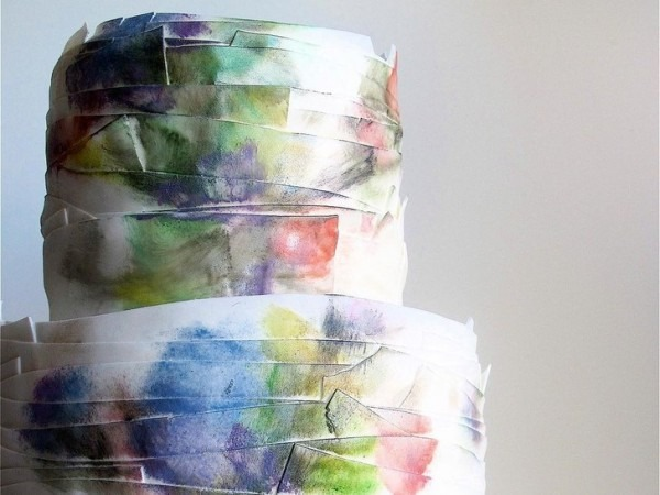 The Watercolor Wedding Cake Trend Is About To Take Over Your