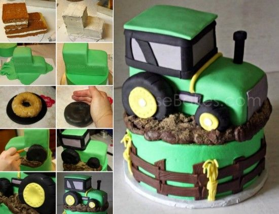 Diy Tractor Cake Pictures, Photos, And Images For Facebook, Tumblr