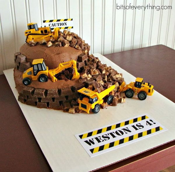 40+ Construction Themed Birthday Party Ideas