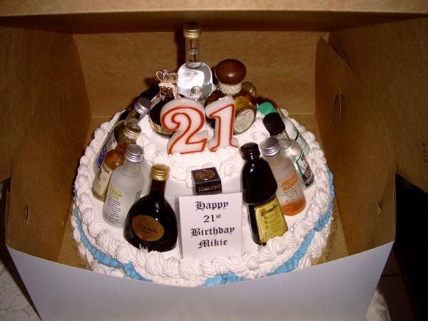 21st Birthday Cakes For Him