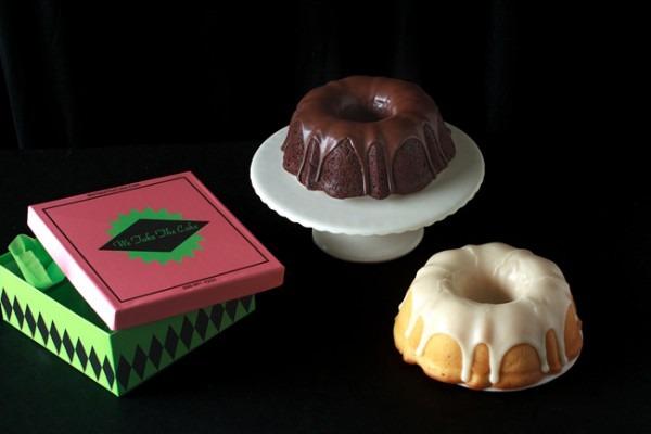 Moist Chocolate & Key Lime Bundt Cake