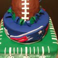 New England Patriots Birthday Cake