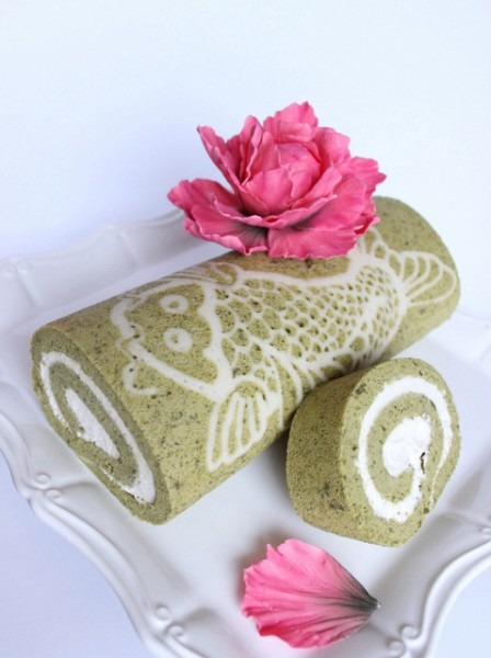 How To Make A Decorated Matcha (green Tea) Cake Roll Recipe