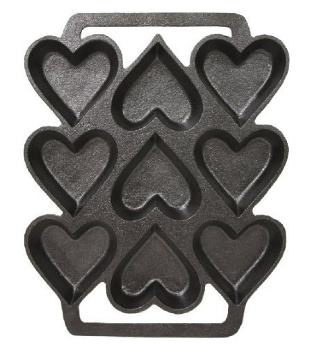 Amazon Com  Sci Scandicrafts Cast Iron Heart Shaped Cake Pan