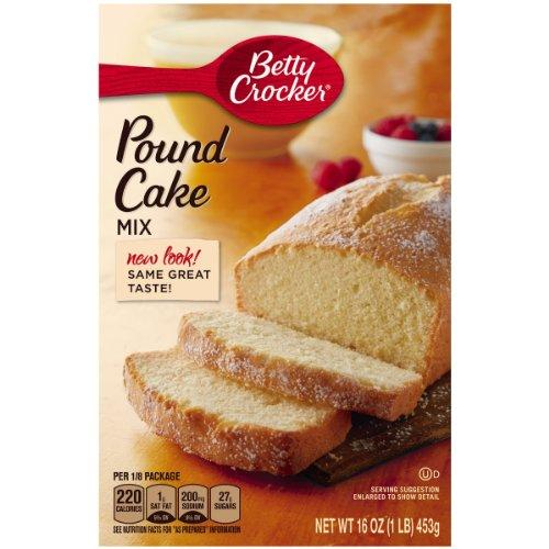 Amazon Com   Betty Crocker Cake Mix Pound Cake 16 0 Oz Box (pack