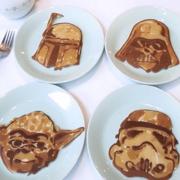 Star Wars Pancakes