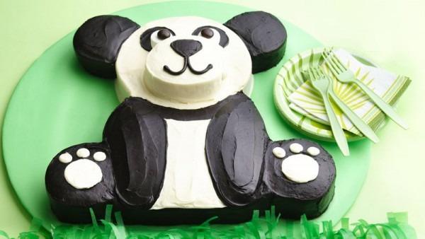 Panda Bear Cake Recipe