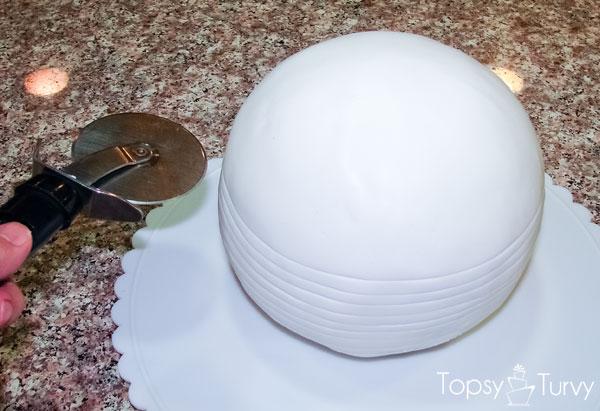 Disco Ball Cake Tutorial