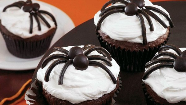 Black Spider Cupcakes Recipe