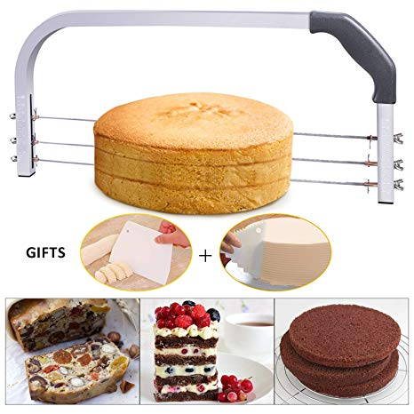 Amazon Com  Bonviee Adjustable Cake Leveler Professional Layer
