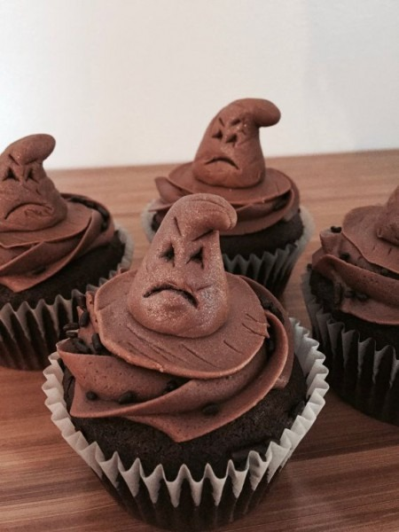 Harry Potter Sorting Hat Cupcake Toppers