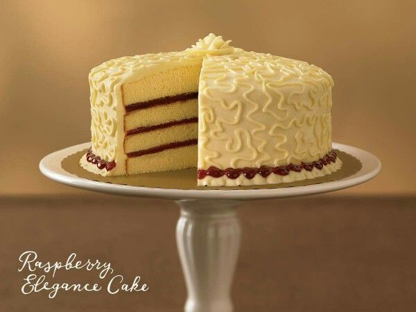 Publix's Raspberry Elegance Cake  Can You Say Yum