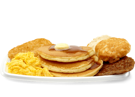 Mcdonald's  Big Breakfast With Hotcakes (1090 Calories)